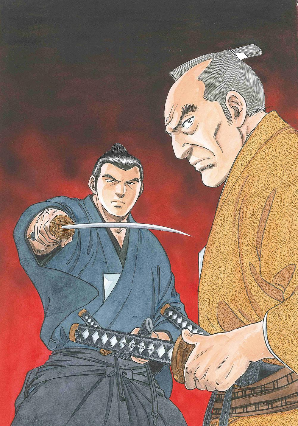 商売 漫画 剣客